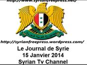 VIDEO. Journal Syria 15/1/2014, Al-Assad reçoit chef diplomatie iranienne