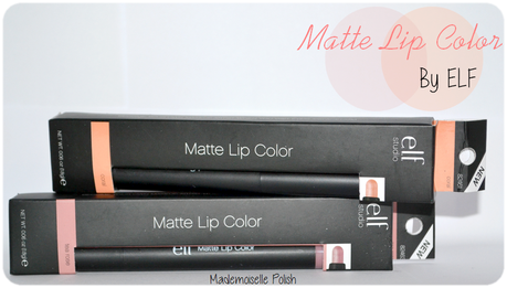 Matte Lip by Elf