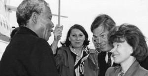 Mandela 300x154 Antonio Silveira, stéphanois, a croisé la route de Nelson Mandela : il témoigne