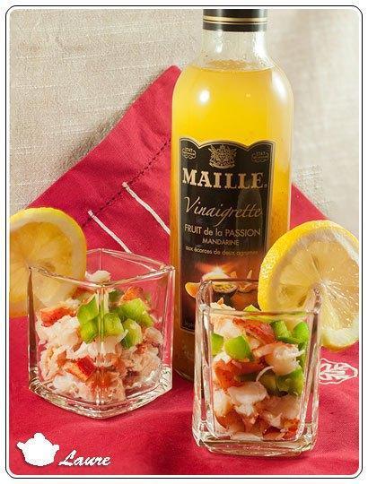 Homard à la vinaigrette Maille