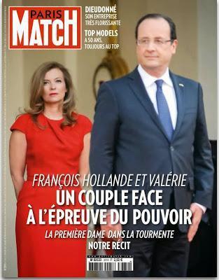 FRANÇOIS HOLLANDE - Le Président français et ses femmes...