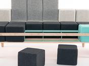 DESIGN Bloc'd Sofa canapé inspiré Tetris