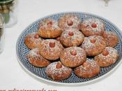 Ghriba cacahuètes écorces d'orange confites