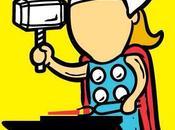 super-héros trouvé leur premier emploi