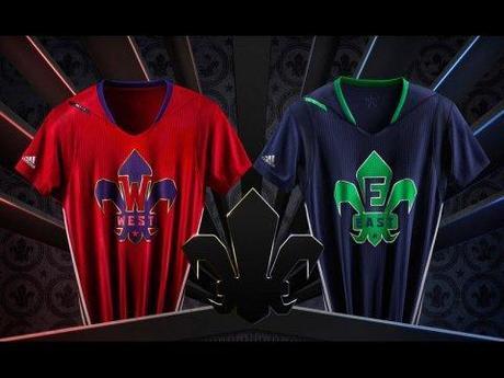 Adidas présente les maillots pour le All Star Game: Une horreur!