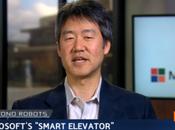 Microsoft invente premier ascenseur intelligent