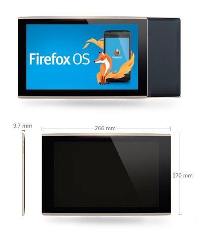 Les caractéristiques de la future tablette Mozilla sous Firefox OS dévoilées