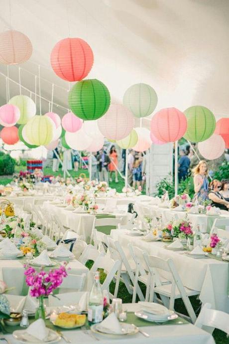 Souvent Idées de décoration de mariage pour petit budget - Paperblog CY71