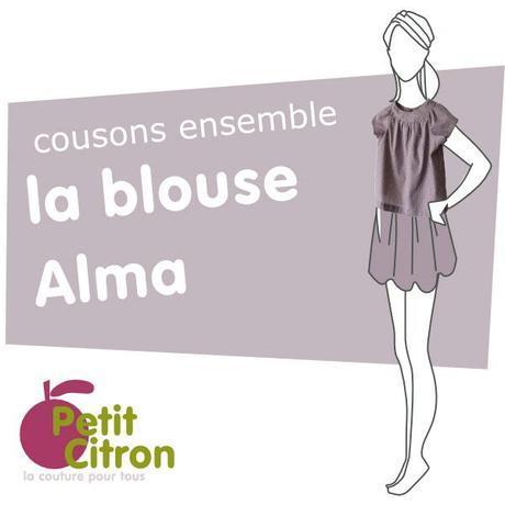 sew along alma Le 3ème cousons ensemble de la blouse Alma : le planning
