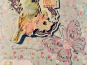 Carte oiseau shabby