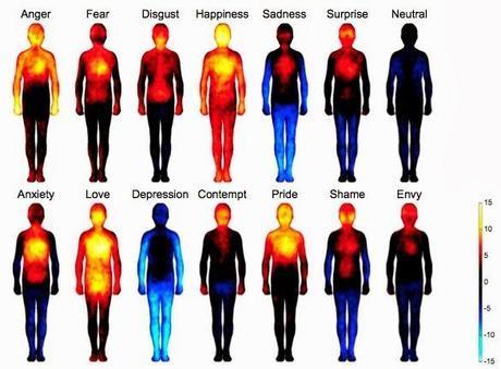 carte corporelle des émotions