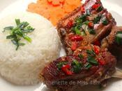 Travers porc grillés citronnelle (sườn nướng