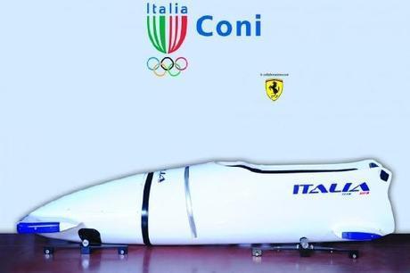 L'équipage italien de Bobsleigh glissera en Ferrari à Sotchi