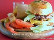 Hamburgers Maison Patatas Bravas.