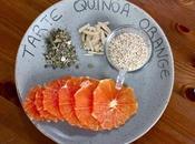 Janvier Détox tarte quinoa, citron, orange fleur d'oranger
