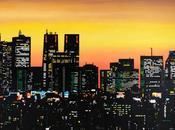 ART: Dessiner lumières villes avec gommettes