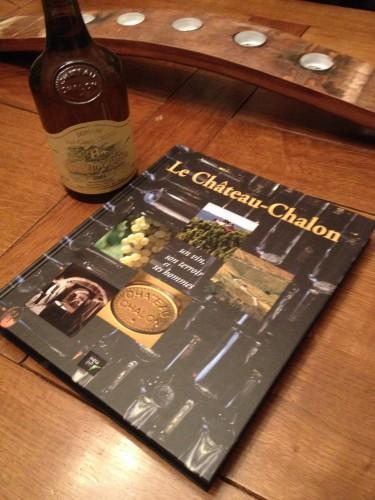 percée du vin jaune,château chalon