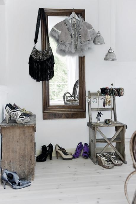 deco ethnique chic scandinave. Black Bedroom Furniture Sets. Home Design Ideas