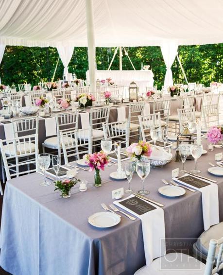 decoration table mariage champetre romantique