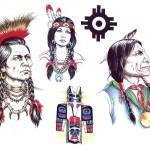 Modeles Pour Tatouage D Indiens D Amerique Paperblog