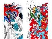 Modèles pour tatouage asiatique
