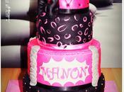 Cake design Girly pour Manon (défi cuisine: cake design)