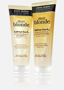 Gamme Sheer blonde de John Frieda (environ 9€)