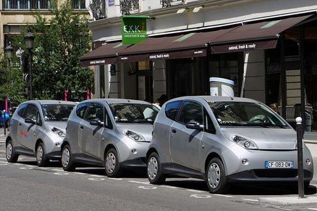 Paris Autolib  Bluecar