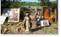 Sauvetage des œuvres d'art suite aux séismes de mai 2012