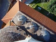 Mesures de bruit de fond sismique sur les coupoles de la Mosquée Souleiman à Rhodes