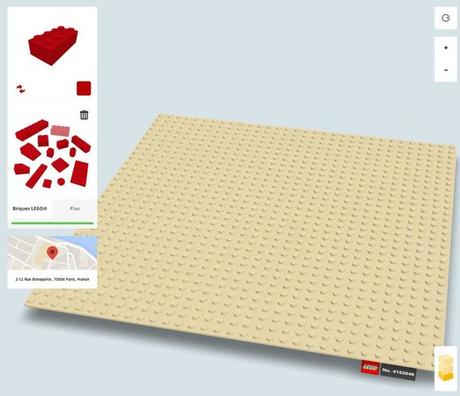 Chrome et Lego s'associent : construisez en ligne et partagez!