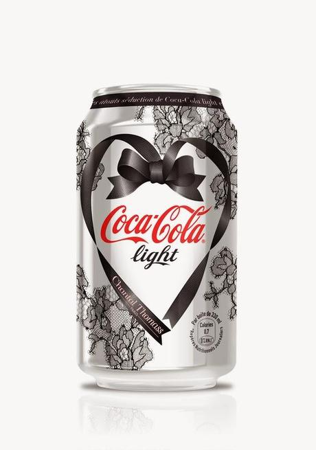 Chantal Thomass rhabille la canette Coca Cola light