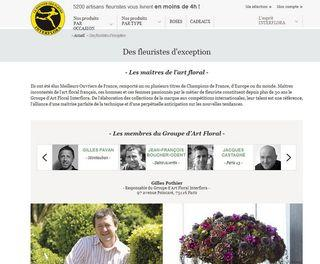 Interflora-fleuriste d'exception