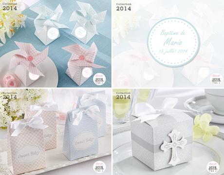 Nouveautés 2014 – Des boites à dragées personnalisées