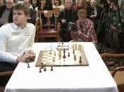 Echecs Carlsen Anand coups