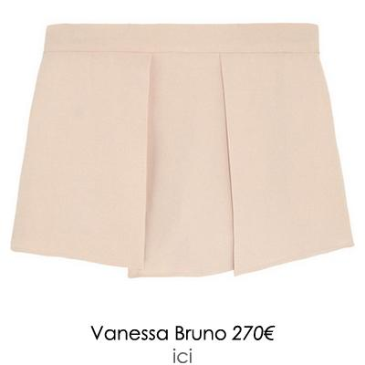 jupe short rose vanessa bruno