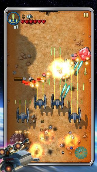 LEGO Star Wars : Microfighters est disponible sur iOS