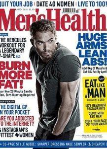 Kellan Lutz pour Men's Health UK - Mars