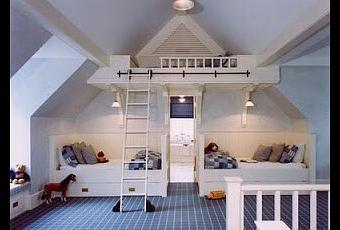 Déco de chambre d\'enfant sous les combles | À Découvrir
