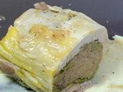 Pintade foie gras chataignes, panais l'huile truffe