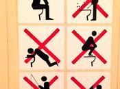 interdit faire dans toilettes Sotchi