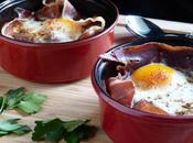 Oeuf cocotte jambon serrano pommes terre croustillantes