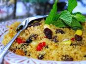 Couscous curcuma fruits secs