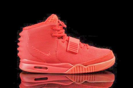 La Nike Yezzy 2 'Red October' sold out en 11 minutes