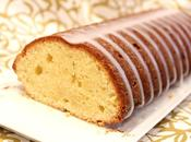 Cake lemon curd