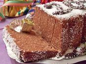 Bûche St-Sylvestre, chocolat noix coco (Vegan)