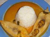 Pescado coco poisson sauce