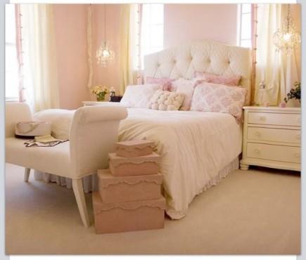 Charmant Chambre   Rose Pâle