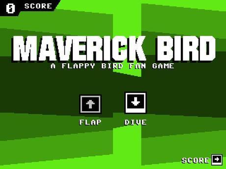 Maverick Bird, encore un remake de Flappy Bird