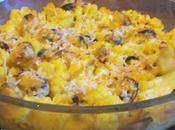 Gratin moules chou-fleur polenta